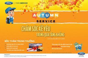 Làm Dịch vụ, Trúng vàng 9999 với chương trình Autumn Service