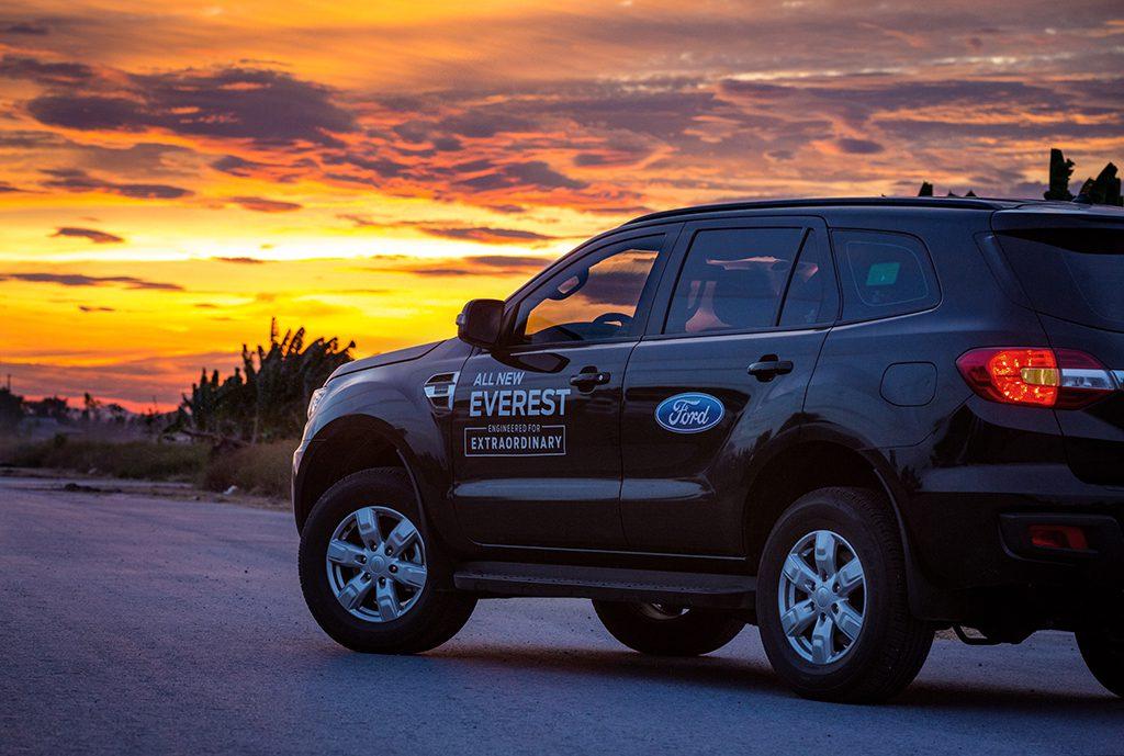 Thử thách Ford Everest 1 bình dầu – Hơn cả kỳ vọng!