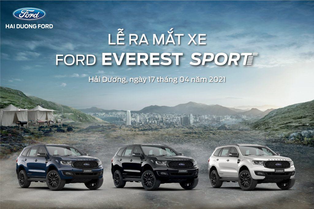 Lễ ra mắt xe Ford EVEREST SPORT 2021 hoàn toàn mới