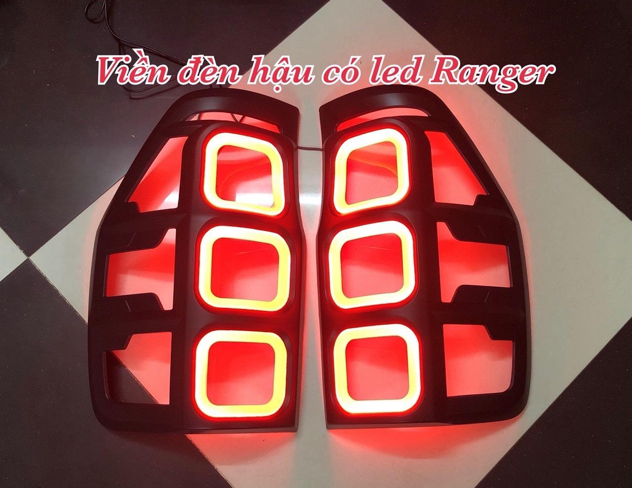 Viền đèn hậu có LED xe Ranger