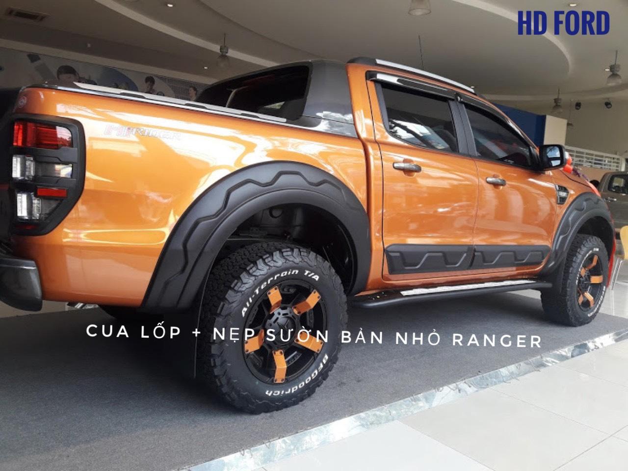 Cua lốp và nẹp sườn xe Ranger
