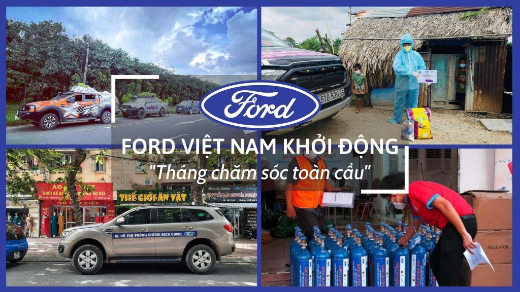"""Ford Việt Nam khởi động """"Tháng chăm sóc toàn cầu"""""""